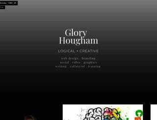 gloryhougham.com screenshot