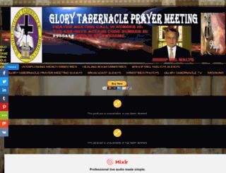 glorytabernacleprayermeeting.blogspot.com screenshot