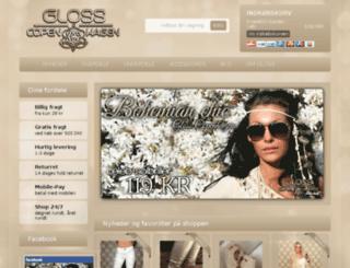 glosscopenhagen.dk screenshot
