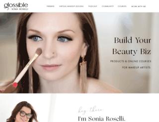 glossible.com screenshot