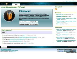 glossword.biz screenshot
