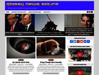 glossynews.com screenshot