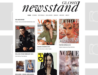 glossynewsstand.blogspot.com screenshot