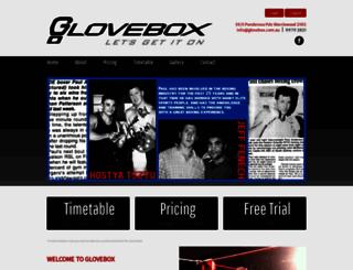 glovebox.com.au screenshot