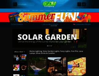 glow.co.uk screenshot