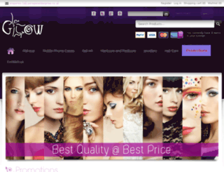 glowbeautyshop.com screenshot