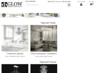 glowchandelier.com screenshot