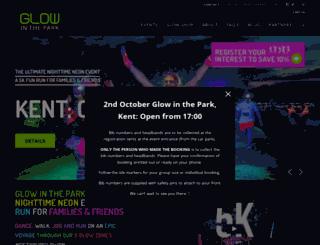 glowinthepark.co.uk screenshot