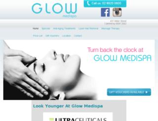 glowmedispa.com.au screenshot