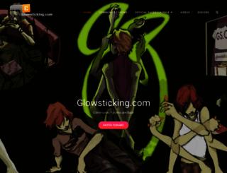 glowsticking.com screenshot