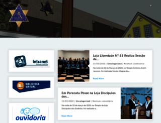 glp.org.br screenshot