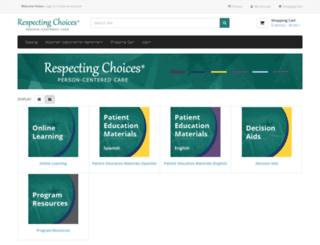 glrespectingchoices.dcopy.net screenshot