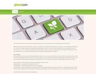 glrzad.com screenshot