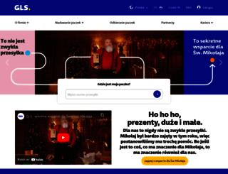 gls-poland.com screenshot