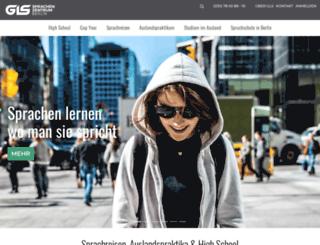 gls-sprachenzentrum.de screenshot