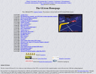gltron.org screenshot