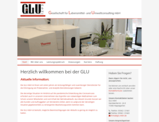 glu-mbh.de screenshot