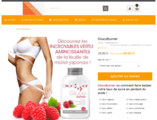 glucoburner.com screenshot