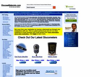 glucosemeters4u.com screenshot