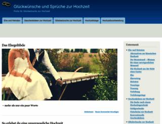 glueckwunsch-hochzeit-sprueche.de screenshot