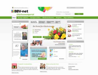 glueckwunsch.bbv-net.de screenshot