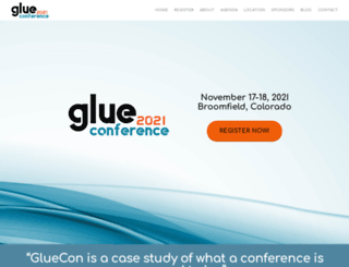 gluecon.com screenshot