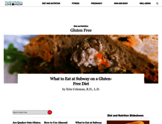 gluten.lovetoknow.com screenshot