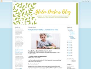 glutendoctors.blogspot.com screenshot