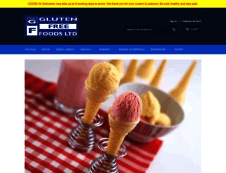 glutenfree-foods.co.uk screenshot