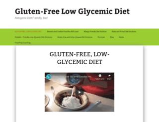 glutenfree-lowglycemic-diet.com screenshot