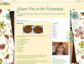 glutenfreeapril.blogspot.com screenshot