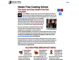 glutenfreecookingschool.com screenshot