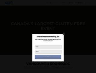 glutenfreeexpo.ca screenshot