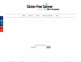 glutenfreespinner.com screenshot
