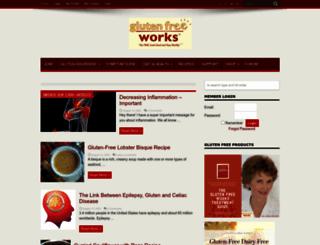 glutenfreeworks.com screenshot