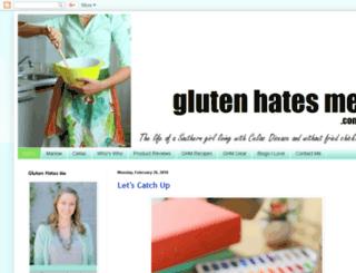 glutenhatesme.com screenshot
