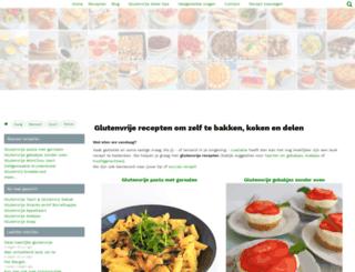 glutenvrijerecepten.nl screenshot