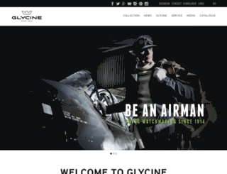 glycine-watch.ch screenshot