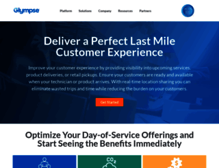 glympse.com screenshot