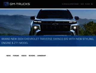 gm-trucks.com screenshot