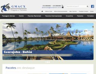 gmacxturismo.com.br screenshot