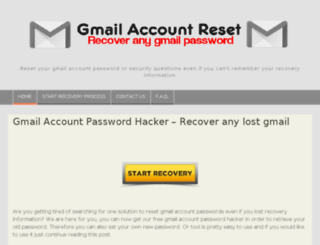 gmailaccountreset.us screenshot