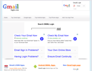 gmaillogin.com screenshot
