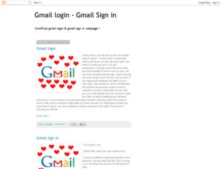 gmailloginsignin.blogspot.com screenshot