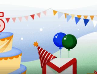 gmailusers.com screenshot