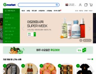 gmarket.co.kr screenshot