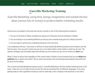 gmarketingtraining.com screenshot