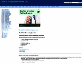gmat.examsavvy.com screenshot