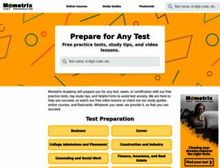 gmatpracticeprep.com screenshot