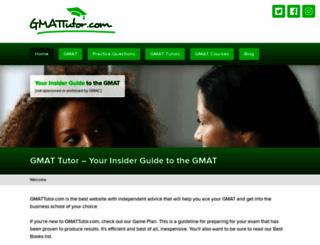 gmattutor.com screenshot